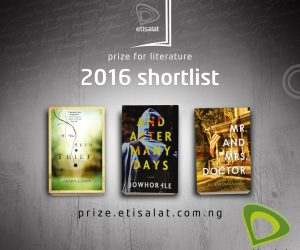 The Seed Thief Shortlisted for the 2016 Etisalat Prize for Literature